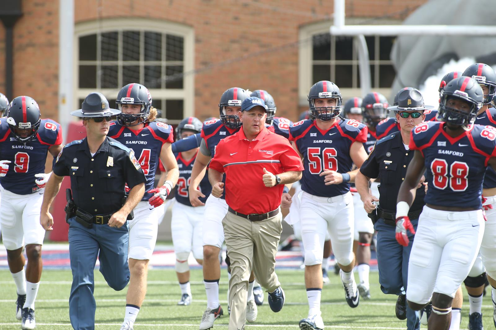 Football Announces 2019 Game At Auburn Samford University
