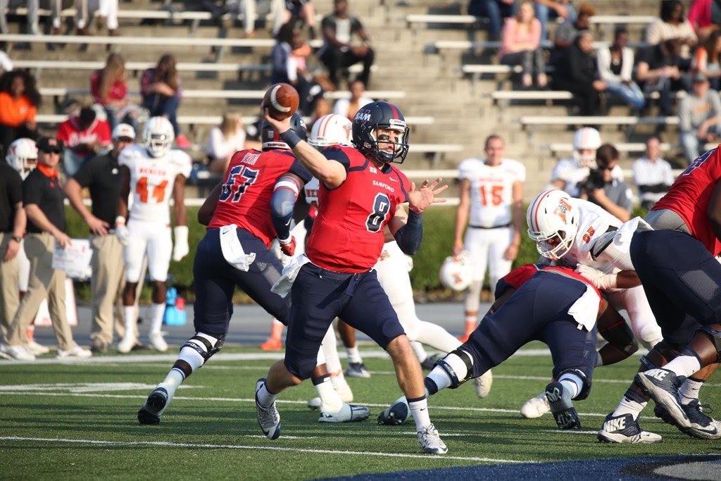 21 Football Holds On For 24 19 Win Over Mercer Samford University