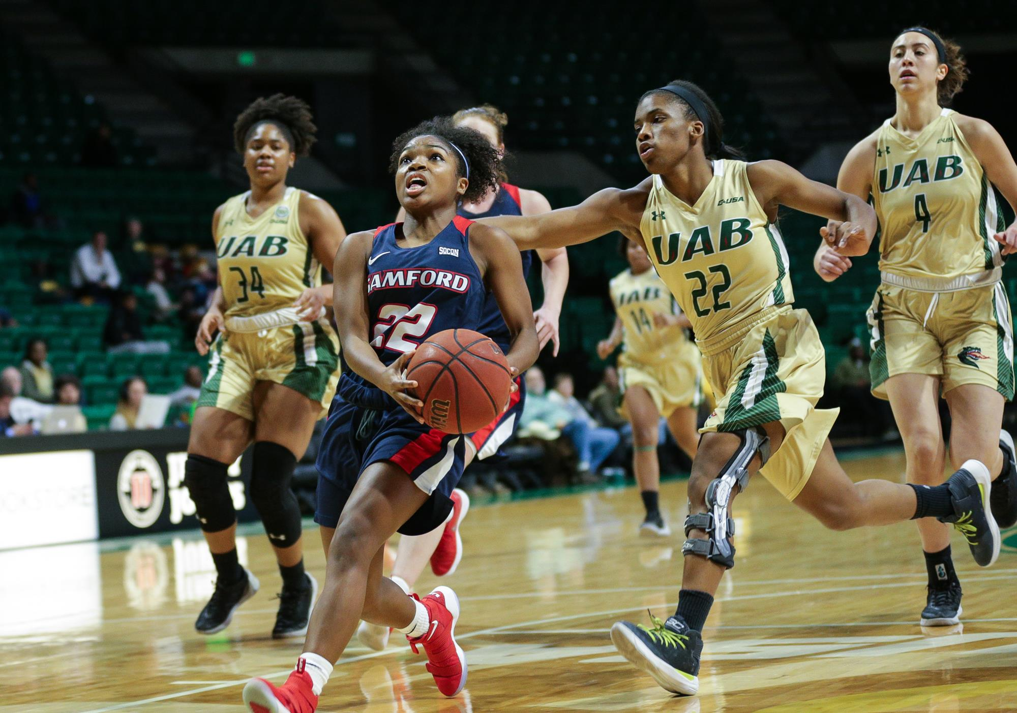 online store c9819 16d77 Slow Start Dooms Women's Basketball In Loss At UAB - Samford ...
